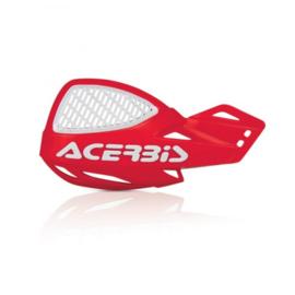 Acerbis handkappen MX Vented Uniko rood/wit