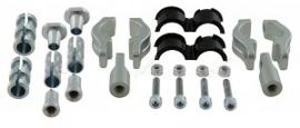 Rtech bevestigingsset Adjustable voor Rtech handkappen FLX aluminium