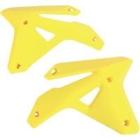 UFO Radiator kappen geel voor de RM-Z 450 2007