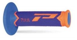 Pro Grip 788 handvaten Tri-Compound Fluor oranje / blauw / licht blauw