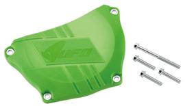 UFO koppelingsdeksel bescherming groen voor de Kawasaki KX 250F 2009-2018