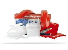 Polisport plastic kit originele kleurstelling voor de CRF 450R 2004