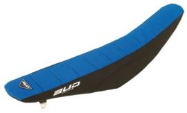 Bud zadelovertrek blauw-zwart voor de Suzuki RM 85 2002-2017