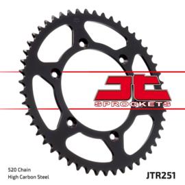 JT achtertandwiel staal Yamaha YZ 125 1999-2019 & YZ 250 1999-2018 & YZ 450F 2003-2018 & WR 250F 1999-2017 & WR 400F 1999-2000 & WR 426F 2001-2002 & WR 450F 2001-2017
