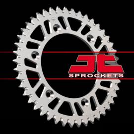 JT aluminium achtertandwiel MET ZANDGROEF CR 125R/250R 1985-2008 & CRF 250 R/X 2004-2018 & CRF 450 R/X 2002-2018 & CR 500R 1985-2001 & Beta RR 250/300/350/390/400 2013-2017 & RR 430/480 2015-2017 & RR 450 2013-2015 & RR 498 2013-2016 & RR 520 2013-2014