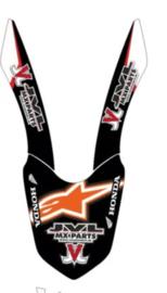 Voorspatbord eigen ontwerp voor alle motorcross merken en modellen