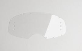 RNR Roll Off Lens helder met lijnen voor RNR crossbril WVS met roll off ( 48mm )