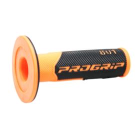 ProGrip 801 handvaten zwart/ fluor oranje