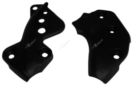 Racetech framebeschermers zwart Husqvarna TC 250/450/510 2005-2007 & TE 250/450/510 2005-2007