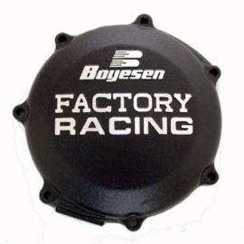 Boyesen Factory Racing koppelingsdeksel Zwart voor de Yamaha YZ 250F 2014-2018 & WR 250F 2015-2018