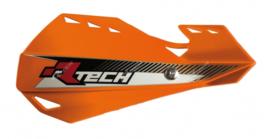 Rtech handkappen Dual + montageset oranje type Motocross & Enduro