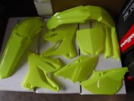Polisport Fluor geel plastic kit Yamaha YZ 125/250 2015-2018