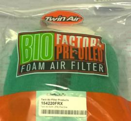 Twin Air lucht filter bio geolied Fire Resistant voor powerflow kit 154220C Husqvarna FE 501 2017-2019 & KTM EXC-F 500 2017-2019