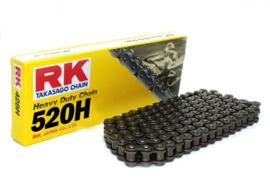 RK ketting zwart heavy duty 520H 120 schakels