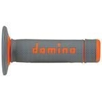 Domino handvaten Waffel X-treme grijs/oranje