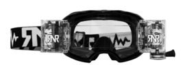 RNR crossbril WVS Zwart met roll off ( 48mm )