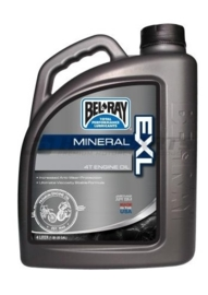 Bel-Ray EXL Mineraal 4 takt motorolie 20W50 4 liter