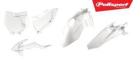 Polisport plastic kit doorzichtig KTM SX 125/150 2016-2018 & SX 250 2017-2018 & SX-F 250/350/450 2016-2018