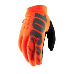 100% koud weer handschoenen Brisker Fluor oranje