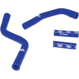 Samco radiator slangen set blauw voor de Yamaha YZ 125 2005-2018