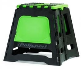 Polisport motorbok zwart/groen