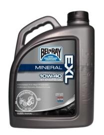 Bel-Ray EXL Mineraal 4 takt motorolie 10W40 4 liter