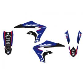 Blackbird Dream 4 sticker set Yamaha YZ 250F 2019-2021 & YZ 450F 2018-2021