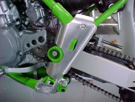 Works Connection Frame beschermers voor de Kawasaki KX 80 1998-2000 & KX 85 2001-2013