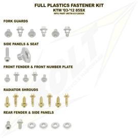 Bolt boutenset voor plastic werk KTM SX 85 2003-2012