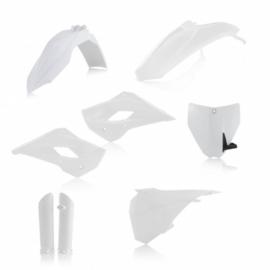 Acerbis volledige plastic kit wit voor de Husqvarna TC 85 2014-2017
