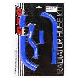 DRC radiator slangen set blauw voor de Kawasaki KX 450F 2016-2018