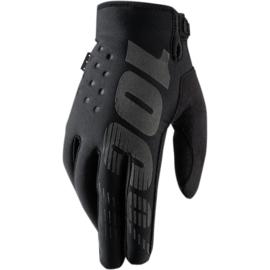100% koud weer handschoenen Brisker zwart