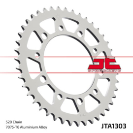 JT achtertandwiel aluminium 46 tands JTA1303.46