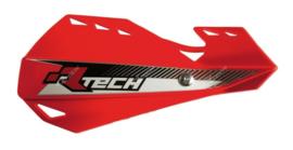Rtech handkappen Dual + montageset rood type Motocross & Enduro