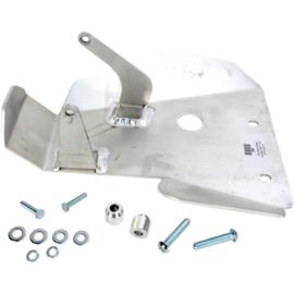 Moose Racing blokbescherming aluminium zilver voor de Honda CRF 110F 2013-2016
