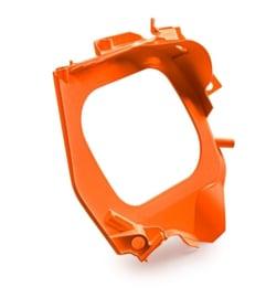 KTM OEM filterbak voorste deel oranje KTM SX 125/150/250 19- & SX-F 250/350/450 19- & EXC/EXC-F 250/300/350/450/500 20