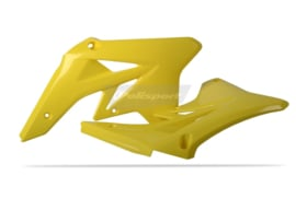 Polisport Radiator kappen geel voor de RM-Z 250 2007-2009