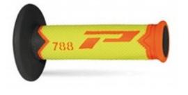 Pro Grip 788 handvaten Tri-Compound fluor oranje / fluor geel / zwart