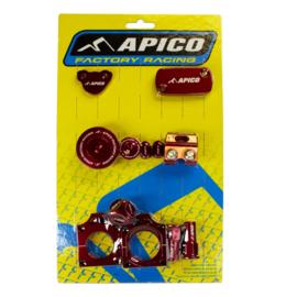 Apico Billet Kit Rood Honda CRF 250R 2018-2021 & CRF 250RX 2019-2021