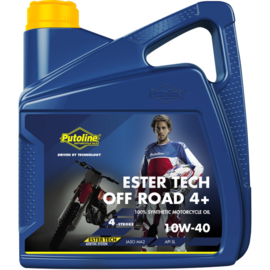 Putoline Ester Tech Off Road 4+ 10W40 4 liter