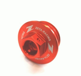 Zeta olievuldop oranje voor de KTM SX/SX-F/EXC/EXC-F 50/65/85/125/144/150/200/250/300/350/450/500 1999-2019