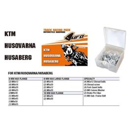 UFO hardware Track Racing Pack voor de KTM, Husqvarna & Husaberg