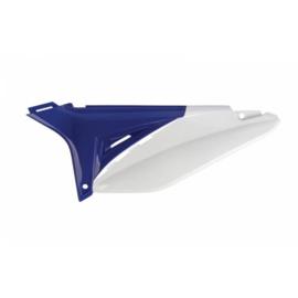 Polisport zijpanelen blauw/wit Sherco SE 250/300 2014-2016 & SEF 250/300 2014-2015 & SE 250i 2012-2013 & SE-R 250/300 2014-2015 & SEF-R 250/300 2014-2016 & SE 300i-R 2012-2013 & SEF 450 2016 & SEF-R 450 2016