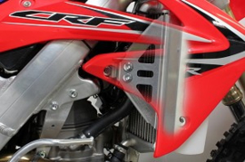 Works Connection Radiator Braces voor de Honda CRF 450R 2012
