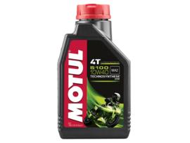 Motul synthetische 4 takt olie 5100 10W40 1 liter