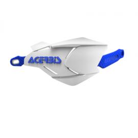 Acerbis handkappen X-Factory blauw/wit
