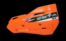 Zeta handkappen XC met knipperlicht oranje lens ( zonder montageset )
