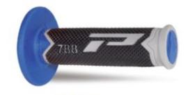 Pro Grip 788 handvaten Tri-Compound grijs / TM blauw / zwart