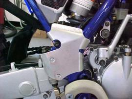 Works Connection frame beschermers voor de Yamaha YZ 125/250 1997-1999