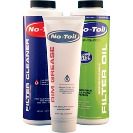 No Toil Evolution bio luchtfilter olie & cleaner & vet